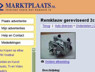 Marktplaats.nl te web 1.0