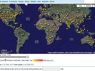 Internet helpt ziektes opsporen en bestrijden