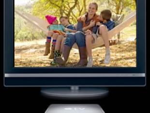 Het nieuwe TV kijken