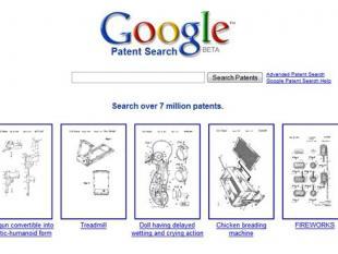 """""""Google patenteert eigen homepage"""""""