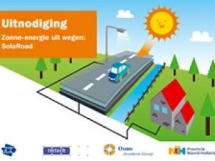 TNO ontwikkelt eerste zonnefietspad