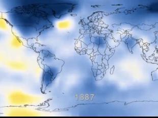 NASA maakt filmpje van opwarming aarde