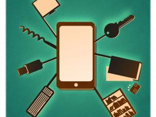 Zo ziet het mobieltje van de toekomst eruit