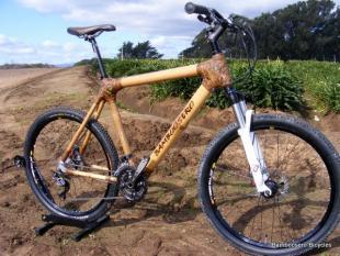 In het zadel voor Duchenne (deel3): De bamboe fiets
