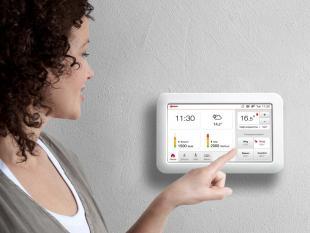 Toon: een op afstand bestuurbare tablet-thermostaat