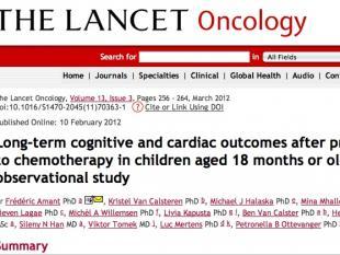 Chemotherapie beïnvloedt baby niet