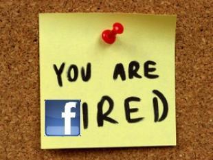 Je kan worden ontslagen voor schelden via Facebook