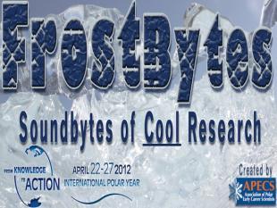 Science voor dummies met Frostbyte: een soundbite over ijzig onderzoek