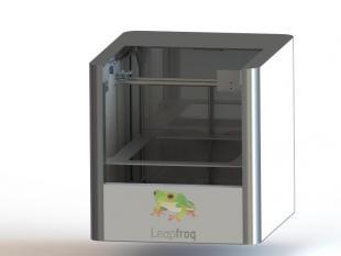 Leapfrog brengt de 3D-printer naar woonkamer en designstudio