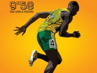 De snelste man op aarde zou sneller kunnen rennen