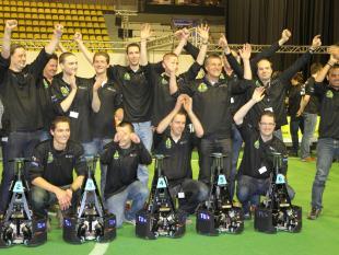 Nederland wint RoboCup Dutch Open