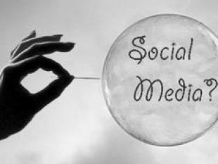 Hoeveel lucht kan er nog in de social media bubble?