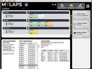 Chip registreert snelheid van sporters per duizendste seconde