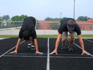 Ook kort sporten is goed voor kinderen