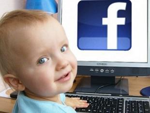 Facebook, je kan er niet vroeg genoeg mee beginnen