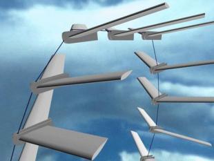 TU Delft ontwikkelt vlieger die energie opwekt