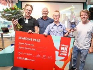 Jan den Hertog (13) wint Nederlands Kampioenschap Microsoft Office