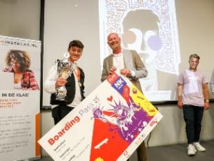 Stijn van Leest, student van het SintLucas wint NK Adobe 2019