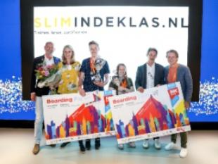 Robin van den Berg (15) en Femke Wagemakers (22) winnen Nederlands Kampioenschap Microsoft Office