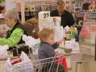 Gedachteloos door de supermarkt?