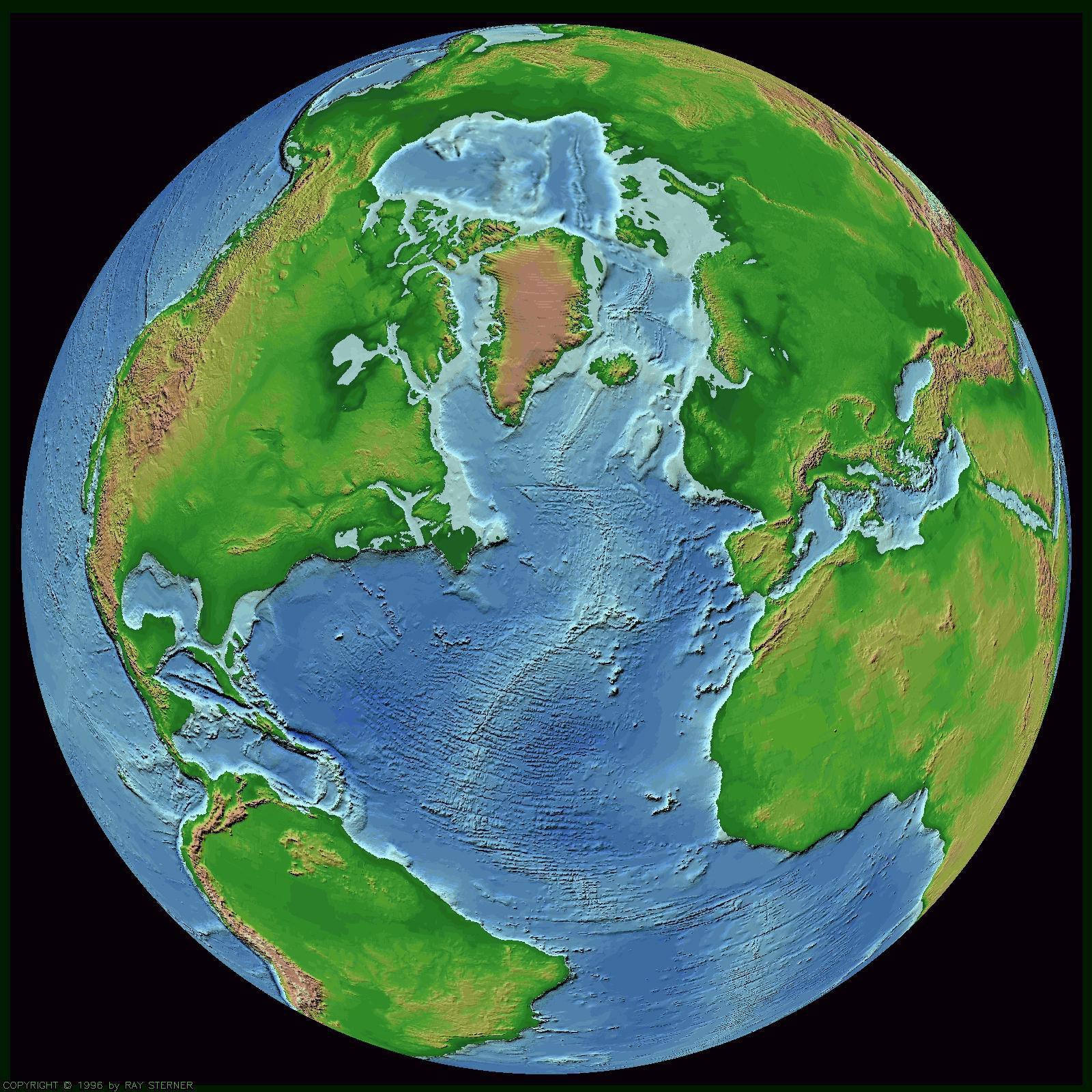 De wereld - Salontafel herbergt de wereld ...
