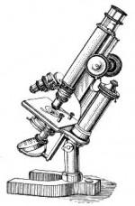 Een klassieke microscoop