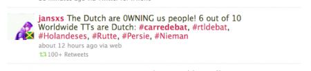 Tweet #carredebat