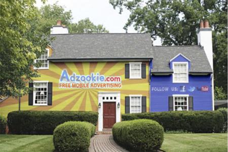 Adzookie, je huis als billboard