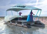 Het voorlopige ontwerp van de plastic boot