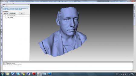 Een 3D-scan van een persoon