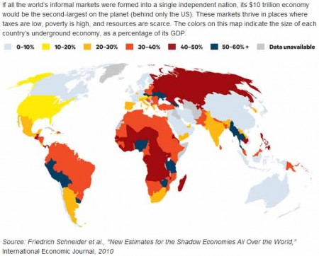 Zwarte markten in de wereld