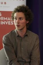 Edial Dekker tijdens het investerings-event