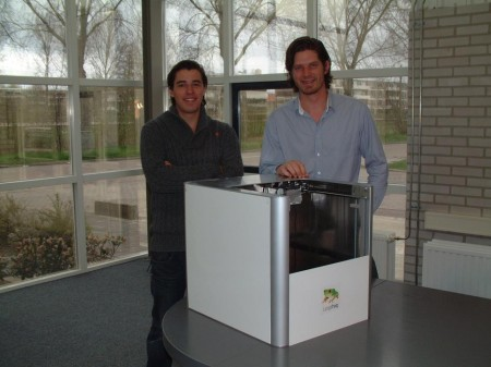 Maarten Logtenberg (l) en Martijn Otten: