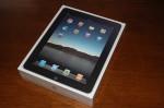 De doos van een iPad.