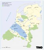 Mogelijke schaliegashoudenden lagen in Nederland