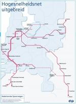 Plan NS uitbreiding hogesnelheidsnet 2011