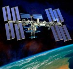 Het internationale space-station ISS