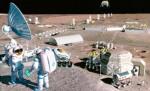 Maanbasis volgens de artists van NASA.