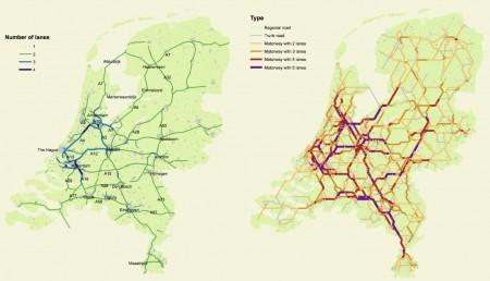 De nieuwe wegenkaart van Snelder