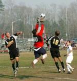 Bij keepers stijgt het testosterongehalte meer dan bij veldspelers