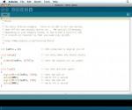 de Arduino ontwikkelomgeving