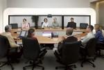 Met HP Halo en Telepresence 3000 is het net alsof je bij elkaar aan tafel zit