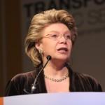 EU Telecom Commissaris Viviane Reding