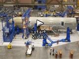 Animatie van de 787 assemblage
